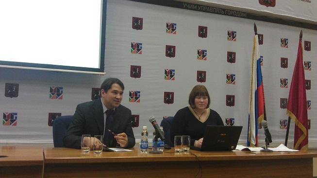 Выступление на коллегии Департамента здравоохранения Москвы